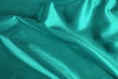 Satén de la turquesa Foto de archivo