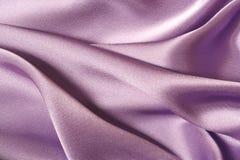 Satén púrpura fotografía de archivo libre de regalías