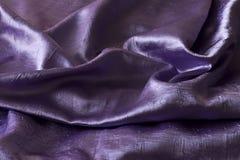 Satén violeta Fotos de archivo libres de regalías