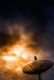 Sat-Dish Royalty Free Stock Photography