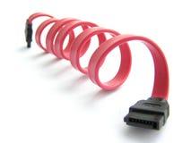 sata кабеля стоковые фото