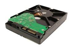 SATA 3.5-Inch-Festplattenlaufwerk getrennt auf einem Weiß Lizenzfreie Stockfotografie