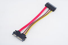 Sata cable Royalty Free Stock Images