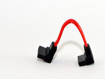 Sata cable walk Royalty Free Stock Photo
