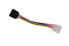 Sata conector. In an isolated background Royalty Free Stock Image