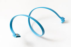 SATA data cable Royalty Free Stock Photo