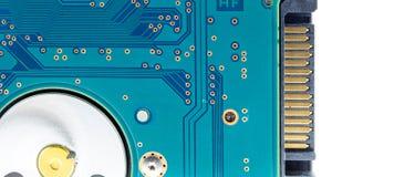 Sata hard disk(HDD) connector. Royalty Free Stock Image