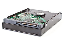 SATA HDD cable stock image