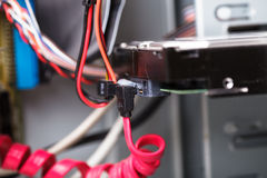 Sata II HDD Стоковые Фотографии RF