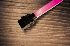 sata type connector Stock Photo