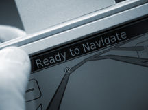 Satallite navigation Royalty Free Stock Photo