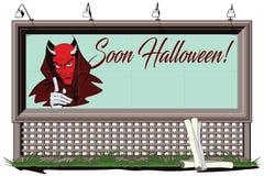 Satan erinnert über Halloween Lizenzfreie Stockfotos
