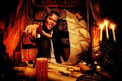 Satan fantasie Royalty-vrije Stock Foto's
