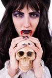 Satan halloween concept isolated Stock Photos