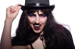 Satan halloween concept isolated Royalty Free Stock Photography