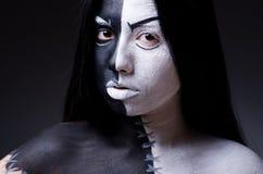 Satan halloween concept Stock Image