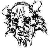 Satan Head Stock Image