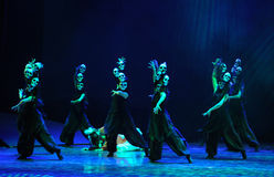 Satan's disciples-The dance drama The legend of the Condor Heroes Stock Photography