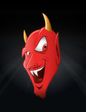 Satan smiling Royalty Free Stock Photos