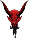 Satan-Tätowierung Stockfotografie