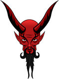 Satan Tattoo. Satan, the evil ruler of hell Stock Photography