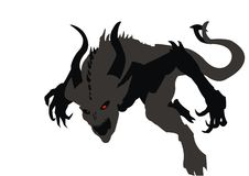 Satan Vector Stock Image