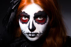 Satana женщины Стоковая Фотография