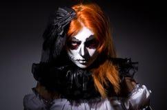 Satana de la mujer Imagen de archivo