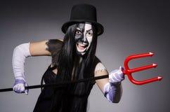 Satana woman Stock Images