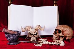 Satanic rite 2 Royalty Free Stock Images