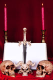 Satanic rite Royalty Free Stock Photography