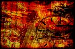 satanisk tid Arkivbild