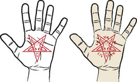 Satanism Stock Photo