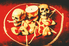 Satanofferings Arkivfoton