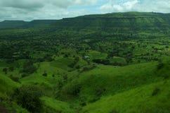Satara wioski krajobraz Zdjęcie Royalty Free