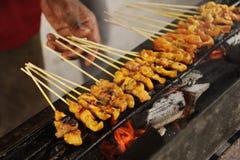 satay πικάντικος της Μαλαισία στοκ εικόνες