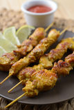 Satay Stock Photo