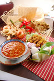 Satay Foto de Stock Royalty Free