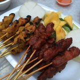 Satay Photo stock