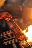 satay σάλτσα Στοκ εικόνες με δικαίωμα ελεύθερης χρήσης