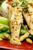 Satay Chicken Royalty Free Stock Photos