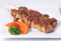 Satay chicken. Stock Image