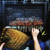 Satay. royalty free stock photography