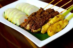 Balinese Satay stock photos