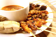 Satay Royalty Free Stock Photos