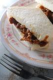 Satay nötköttsmörgås Royaltyfria Bilder
