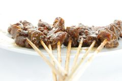 Satay Or Sate Royalty Free Stock Image