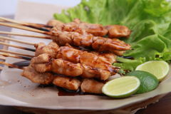 Satay sauce teriyaki Royalty Free Stock Photo