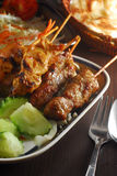 Satay skewer Stock Photos