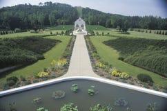 The Satchidananda Ashram-Yogaville and Lotus Conference Center in Buckingham, Virginia Royalty Free Stock Images